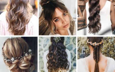 Peinados de novia para 2021